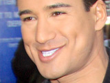 Mario Lopez outside MTV studios in Times Square, New York City
