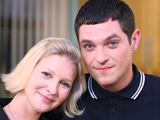 Gavin (Matthew Horne) and Stacey (Joanna Page) in Gavin & Stacey