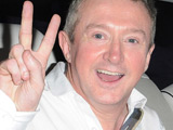 Louis Walsh and Simon Cowell leaving the Fountain Studios after the Semi Final of 'The X Factor' London, England.