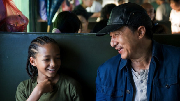 The Karate Kid - Jaden Smith and Jackie Chan