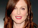 Julianne Moore films a lesbian sex scene for The Kids Are All Right.