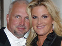 Trisha Yearwood jokes about her husband Garth Brooks's cooking skills.