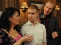 Steve Huison and Debbie Rush discuss the plot which has seen their on-screen son Gary go to war.