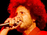 Zach De La Rocha of Rage Against The Machine