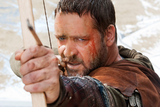 Gerard Butler as Robin Hood
