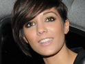 Saturdays star Frankie Sandford dismisses claims that she is dating JLS member Aston Merrygold.