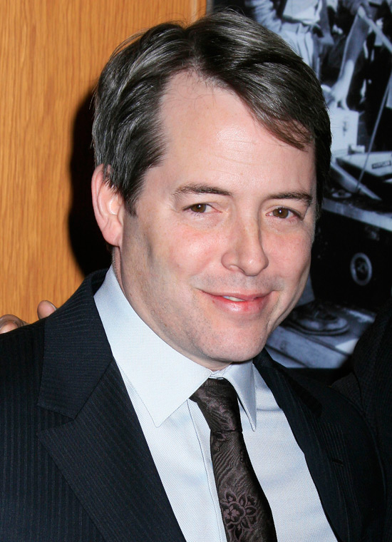 matthew broderick movies. Matthew Broderick at the Los