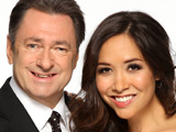 Alan Titchmarsh and Myleene Klass