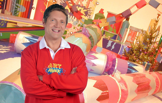 Neil Buchanan Art Attack - DS Icons: Neil Buchanan - Digital Spy