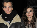 "Keira Knightley's father says that the actress is ""getting on with things"" following her split from Rupert Friend."