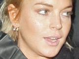 Actress Lindsay Lohan shopping at the Alice + Olivia Store, Los Angeles