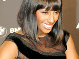 Alexandra Burke at Mercedes-Benz Fashion Week. Berlin, Germany.