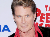David Hasselhoff at the opening night of the 'Pee- Wee Herman Show'