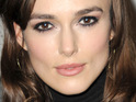 Keira Knightley says that it can be hard to fall in love when in a relationship.