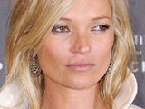 Kate Moss attending a party held by the 'Longchamp' fashion label during Paris' Fashion Week