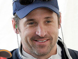 Patrick Dempsey at the practice day for the Rolex 24