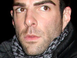 Zachary Quinto at the opening night of Arthur Miller's 'A View From The Bridge' at the Cort Theatre, New York City