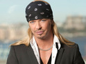 Cyndi Lauper says that Bret Michaels is a good contender to win The Celebrity Apprentice.