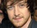 James McAvoy says he lived on £1,200 for five years during his early career as a struggling actor.