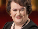"Susan Boyle jokes that she is ""ready"" to cover an AC/DC song."