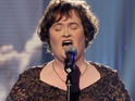 Susan Boyle performs with Amber Stassi on the Today Toyota Concert Series.