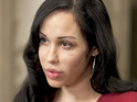 Nadya Suleman - aka Octomom - is visited by social workers and a police officer.