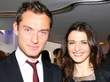Jude Law and Rachel Weisz's romantic drama is to open this year's BFI London Film Festival.
