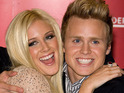 Heidi Montag reportedly plays down trouble in her relationship with Spencer Pratt.