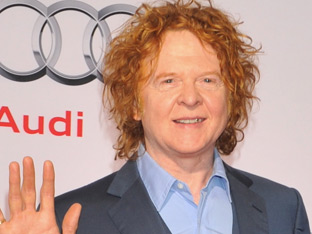 Mick Hucknall of Simply Red at Audi Night