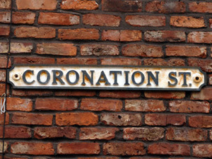 Coronation Street sign