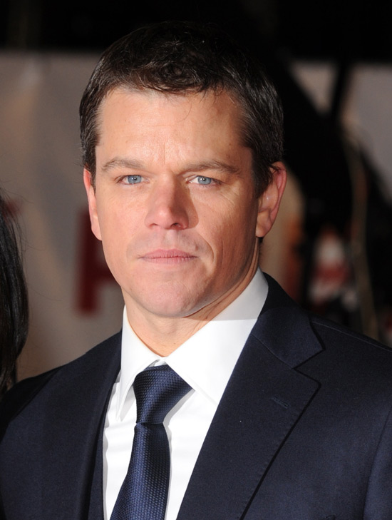 matt damon movies. Matt Damon (Invictus)