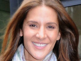 Total Wipeout presenter Amanda Byram at Today FM studios
