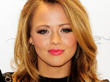 Kimberley Walsh opening New Look on Oxford Street, London