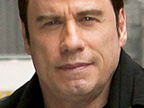 John Travolta, outside the Ed Sullivan Theater for the 'Late Show With David Letterman', New York City