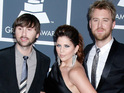Lady Antebellum reach the top spot on the US Billboard 200 with second album Need You Now.
