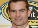 Jeff Gordon and wife Ingrid Vandebosch welcome their second child.