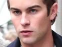 Chace Crawford said he was happy to be stuck in London due to the eruption of the Icelandic volcano.