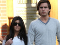 Kourtney Kardashian reportedly catches Scott Disick having a look at a Playboy magazine.