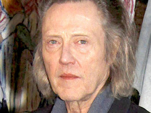 Christopher Walken promoting Martin McDonagh&#39;s &#39;A Behanding In Spokane&#39;