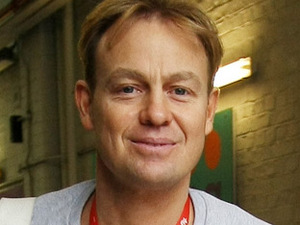 Jason Donovan leaving the ITV studios