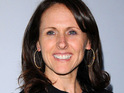 "Glee star Molly Shannon says that the younger cast members ""work their butts off""."