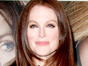 A Julianne Moore billboard is banned in Venice, after officials deem it to be 'inappropriate'.
