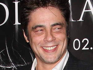 Benicio Del Toro at the premiere of 'The Wolfman'