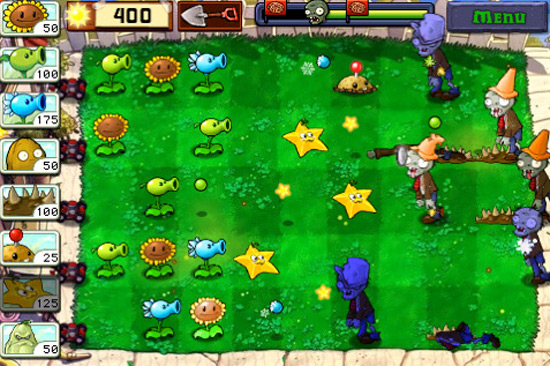 aming Review: Plants vs. Zombies (iPhone)