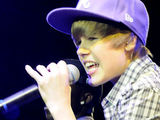 Canadian teen pop sensation Justin Bieber in concert at the Hollywood Palladium theatre