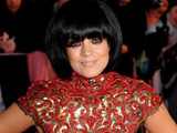 Lily Allen arrives at the 2010 BRIT Awards