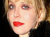 Courtney Love at the Brit Awards 2010 Universal Party, London