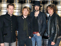 Kasabian say that they are look forward to going back on the road.