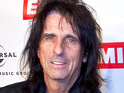 Alice Cooper says that he respects Lady GaGa for having the talent to back up her eccentric style.