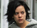 Lily Allen expresses her concern for fellow popstar Courtney Love as their feud continues.
